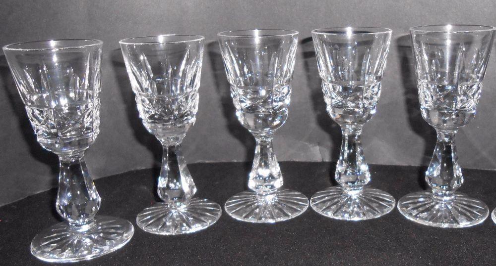 Waterford Klyemore Set Of 5 Cordial Glasses #Waterford