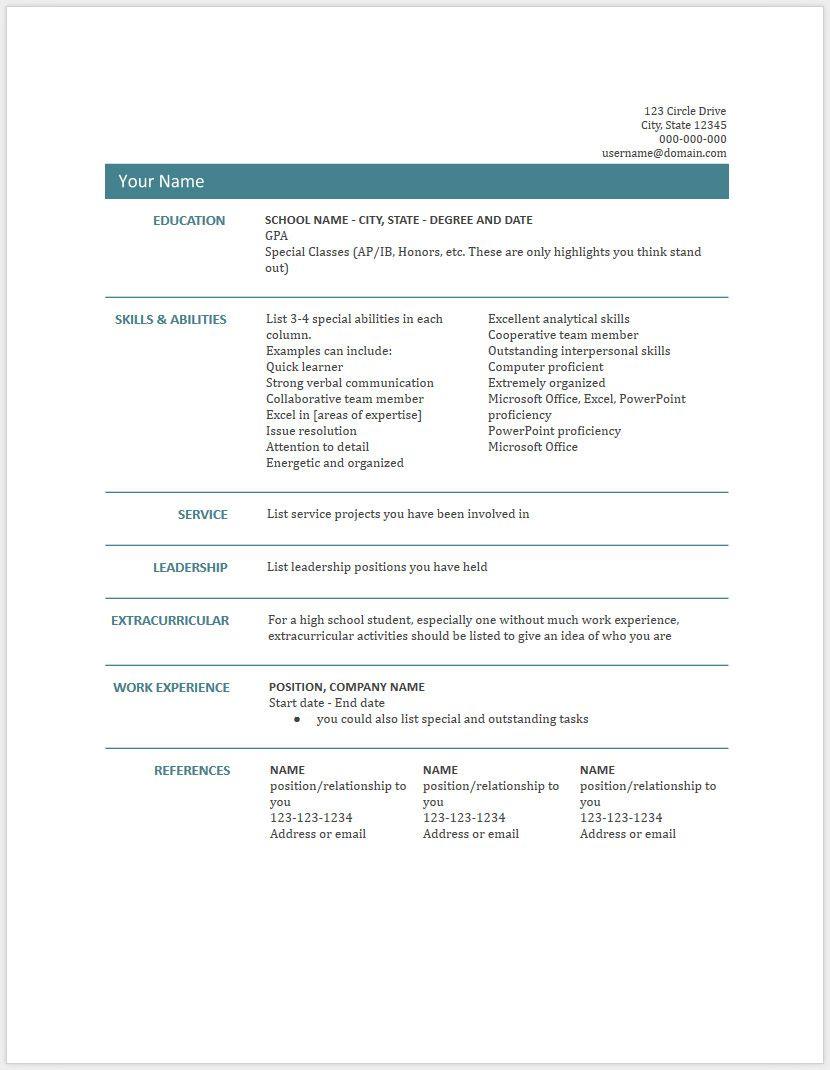 45 Free Modern Resume Cv Templates Minimalist Simple Clean Design Resume Template Free Downloadable Resume Template Free Resume Template Download