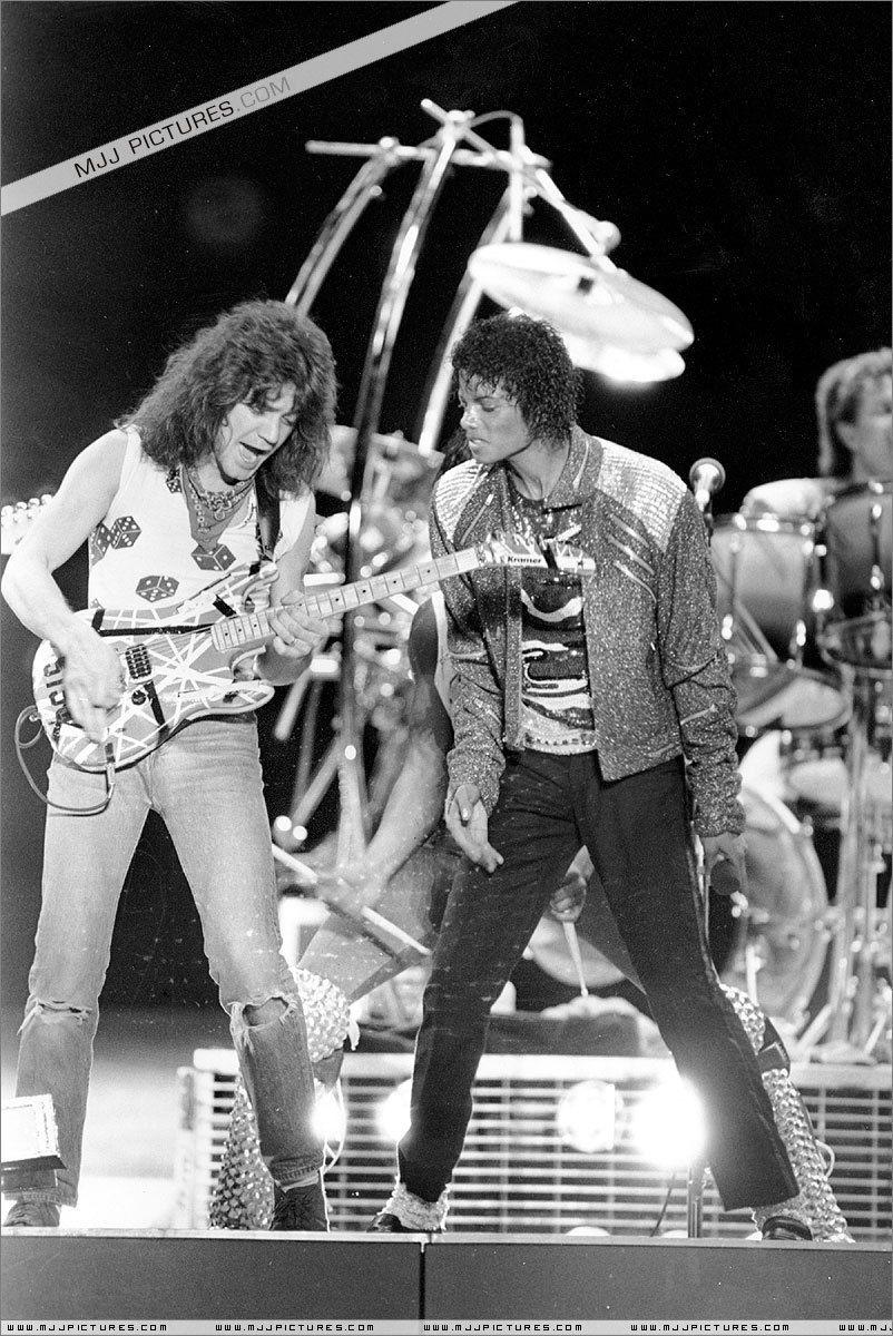 Mj S Robot Dance Photo Michael Jackson Van Halen Eddie Van Halen Michael Jackson