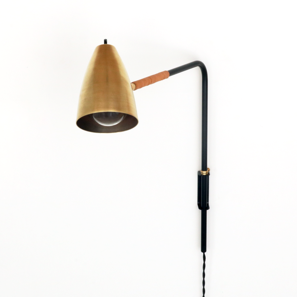 St Germain Lamp With Leather In 2019 Lighting Plug In Wall