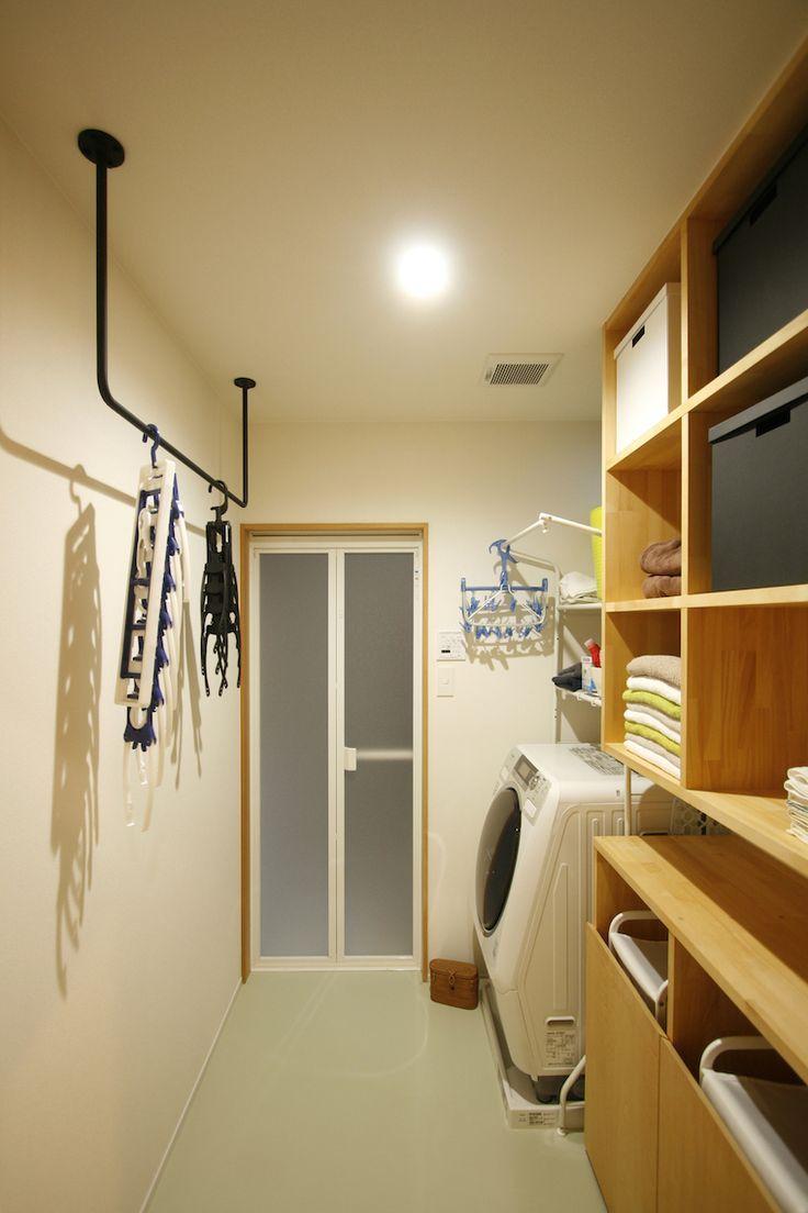 アイアン物干し の画像検索結果 浴室 収納棚 室内物干し 洗濯室