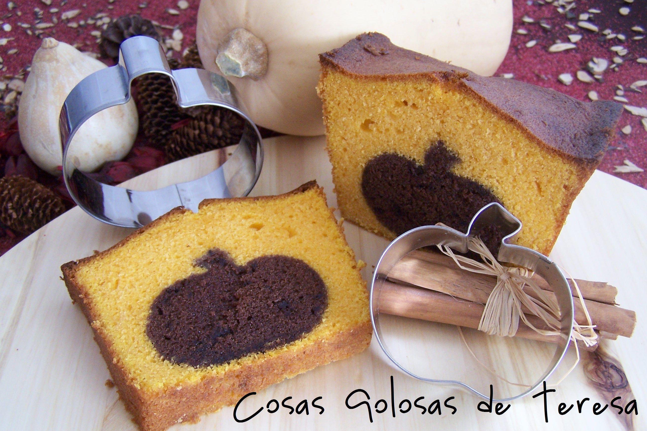 Bizcocho de Calabaza y Chocolate https://www.facebook.com/cosasgolosas.deteresa
