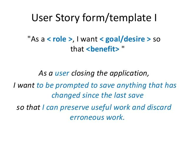 User Stories In Agile Software Development  Career