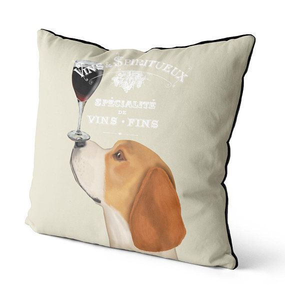 Beagle Gifts Funny Beagle Pillow Cute Beagle Gift Dog Pillow Cover