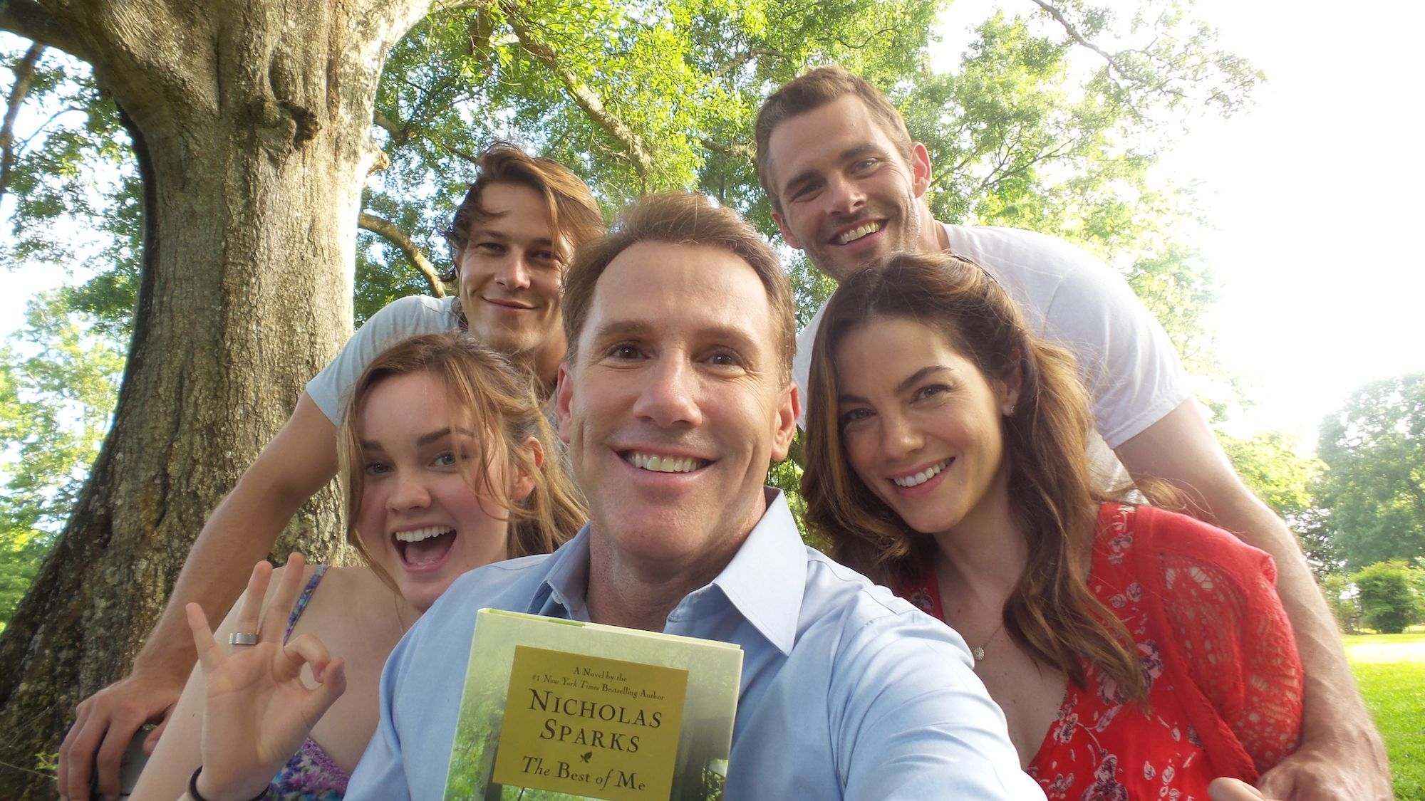 Check out this picture of me and the cast of TheBestofMe in
