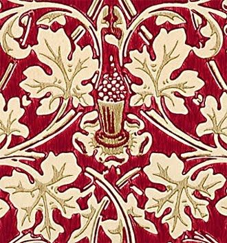 Voysey was influenced by the work of William Morris-Fashion Source Book