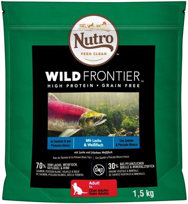 Katzen Trockenfutter Nutro Wild Frontier Adult Lachs Weissfisch