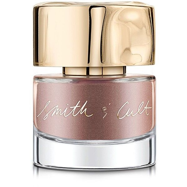 Smith & Cult Flatte Top Coat Nailed Lacquer/0.5 oz. (€15) ❤ liked on Polyvore featuring beauty products, nail care, nail polish and shiny nail polish