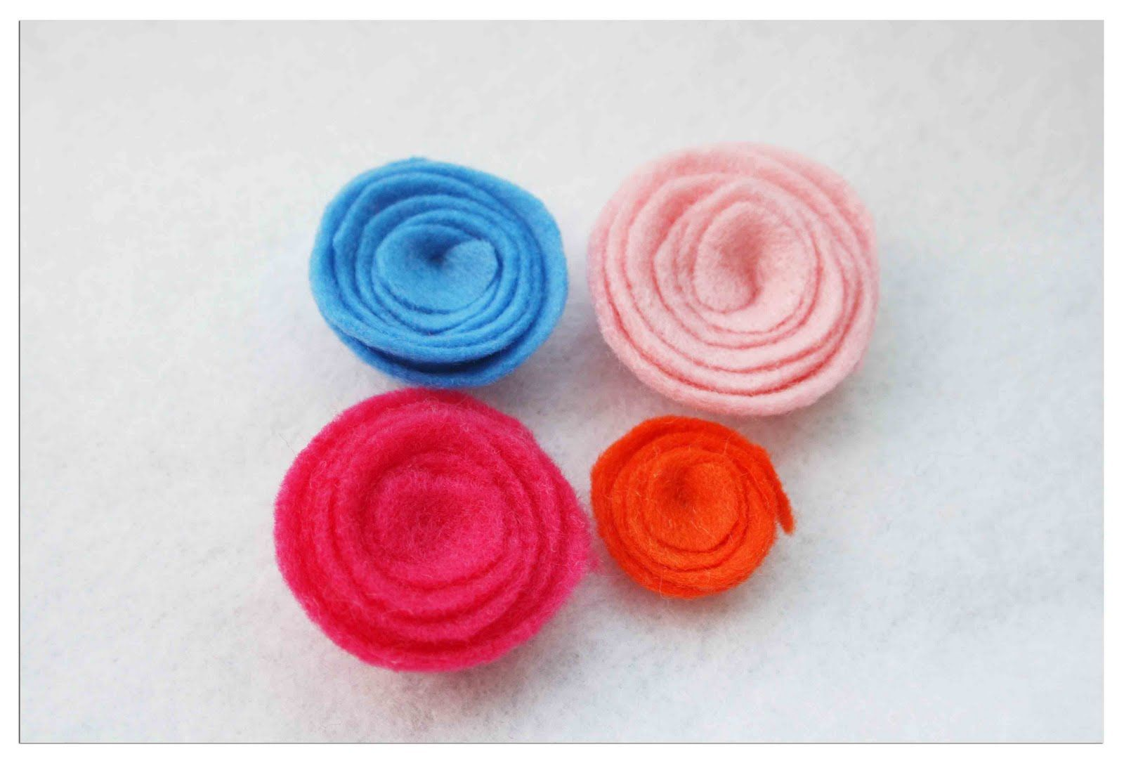 Do more with less a day outd a spiral felt flower tutorial do more with less a day outd a spiral felt flower baditri Gallery