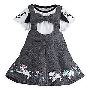 101 Dalmatians Jumper Set For Baby Disney Store Your Sweet Pup Will Be The Toast Of London In Th Disney Baby Clothes Girl Outfits Baby Girl Clothes