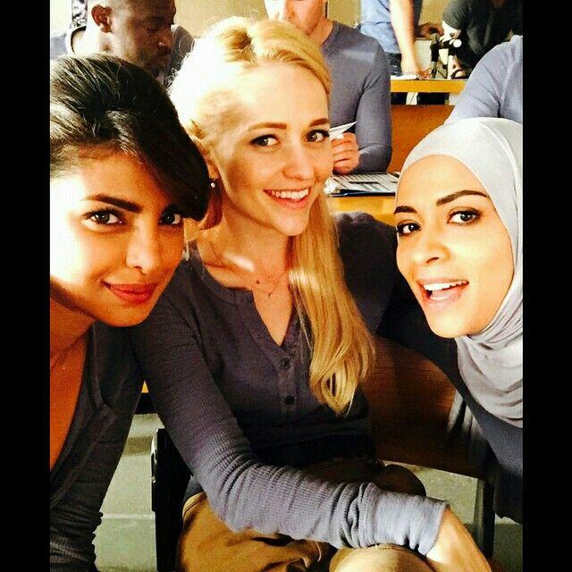 Priyanka Chopra, Yasmine Al Massri and Johanna Braddy