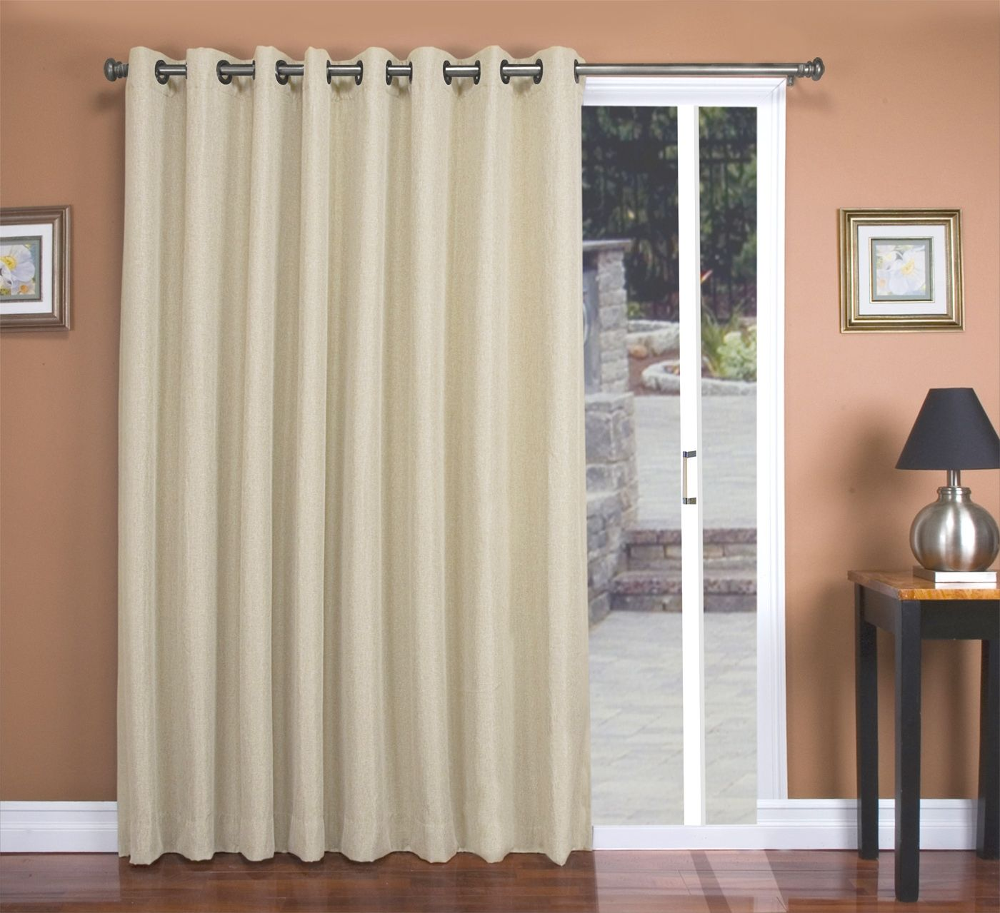 Double patio door curtains commedesgarconsmademoiselle