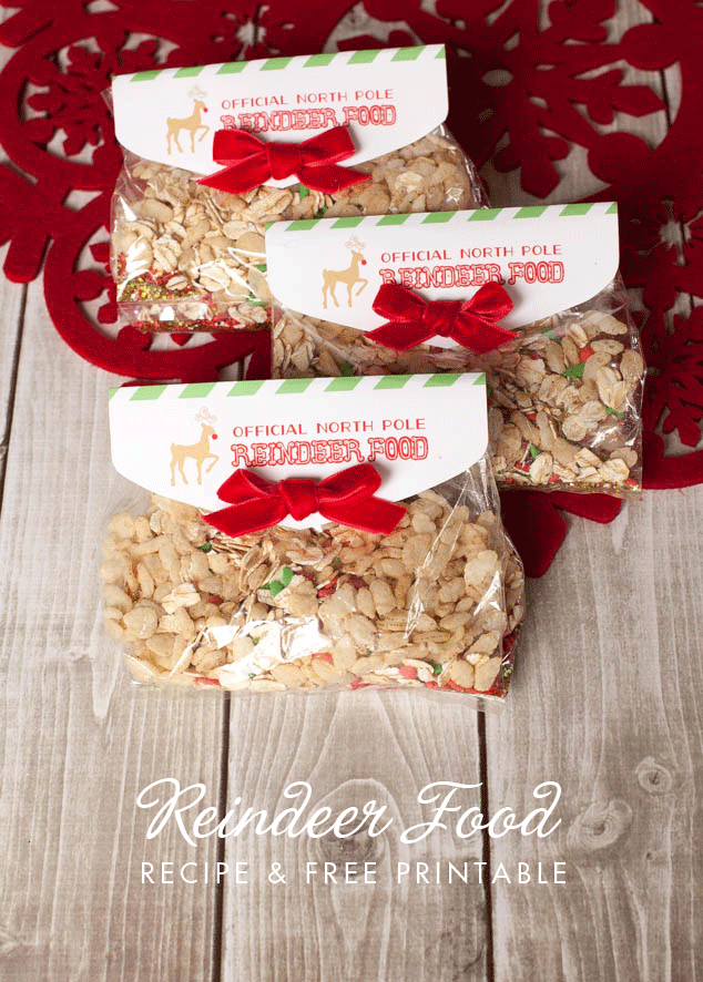 15 minute reindeer food favor and free printable reindeer food reindeer food recipe and free printable reindeer food tag in a 15 minute quick and easy forumfinder