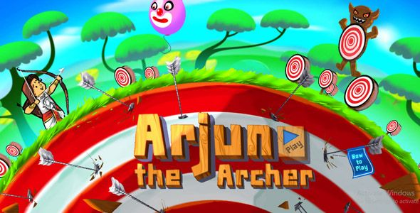 Arjun The Archer - HTML5 Game | My Design Style | Archery