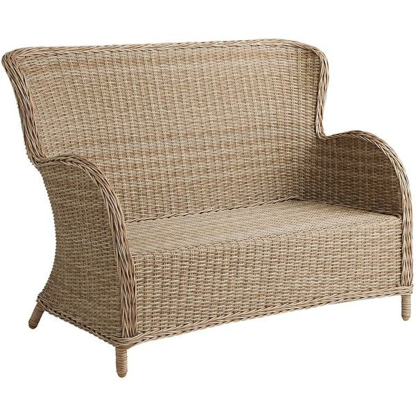 Pier 1 Imports Capella Island Deluxe Settee 550 Liked On