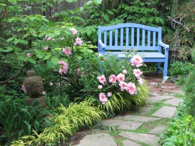 pfingstrosen rosa blüten pflege tipps garten gestalten | der, Garten ideen