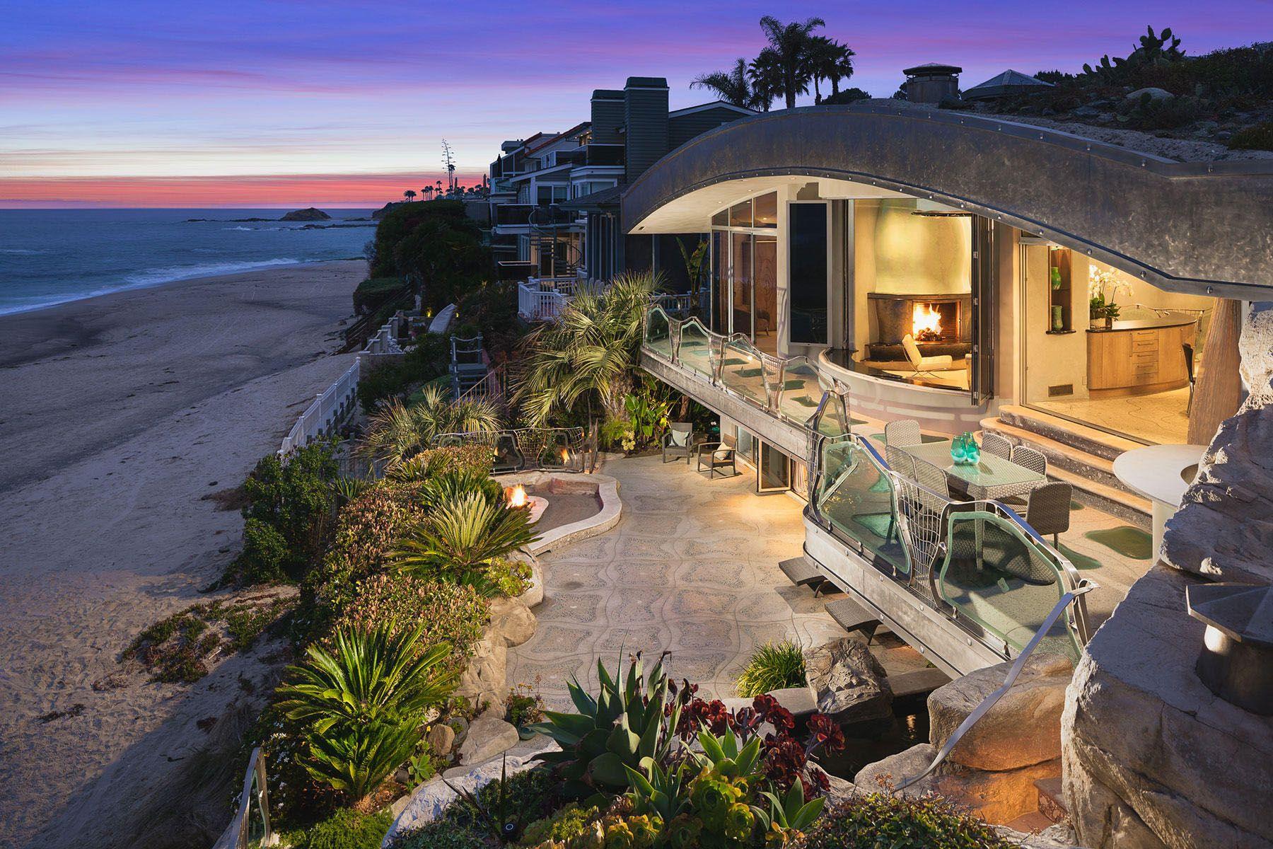 Whimsical Rock House In Laguna Beach Strandhaus Mieten