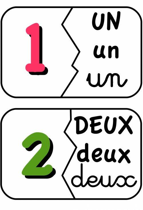 puzzle nombre criture lettre maths pinterest chiffre le chiffre et lettres. Black Bedroom Furniture Sets. Home Design Ideas