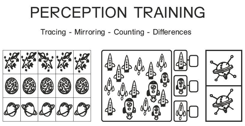 Perception training from space American Dyslexia Association – Dyslexia Worksheets