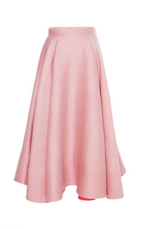 Dust Rose Allaird Skirt by Roksanda Ilincic for Preorder on Moda Operandi