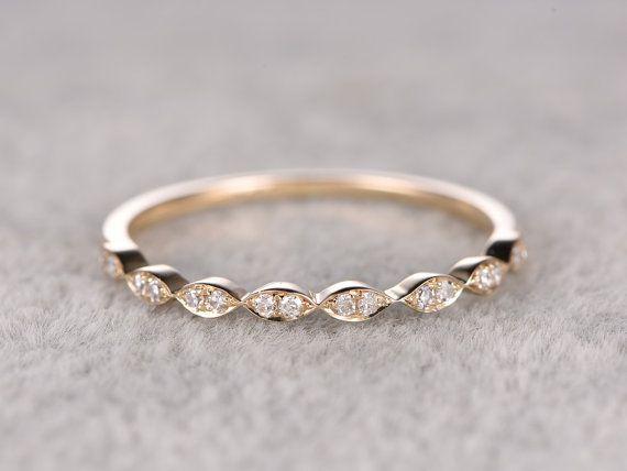 Diamant Ehering rosa gelb weiß Gold Every Schmuck in meinem Shop