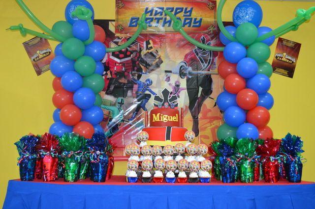 Power Ranger Samurai Birthday Party Ideas Photo 1 Of 8 Catch My Party Power Ranger Birthday Party Power Ranger Birthday Birthday Party Planning