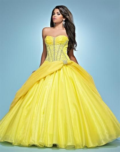 Bright Prom Gowns
