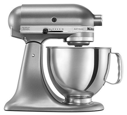Kitchenaid Ksm150pscu Artisan Series 5 Qt Stand Mixer With