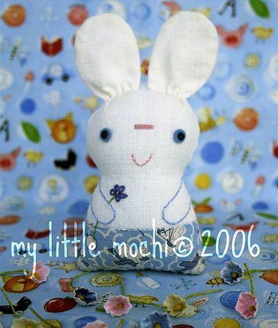 Chibi Kitty and Rabbit Free Pattern