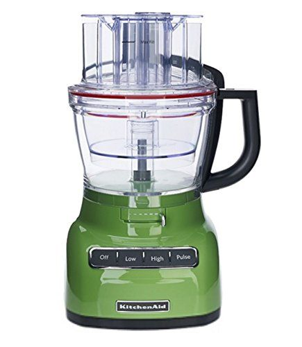 Traditional KitchenAid RKFP0930GA 9-Cup Food Processor with Exact Slice System (CERTIFIED REFURBISHED) Green Apple, ,