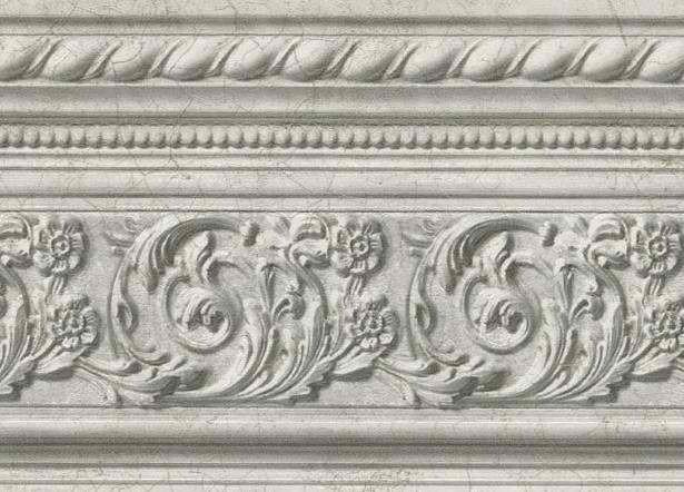 Grey Silver 418b210 Molding Wallpaper Border Wallpaper Border Traditional Wallpaper Textured Wallpaper