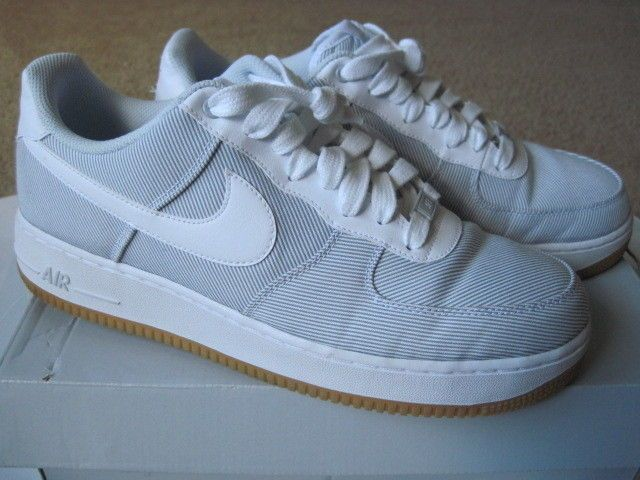 Nike Leather Air Force One 10 Athletic Shoes for Men