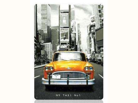 Табличка NY Такси