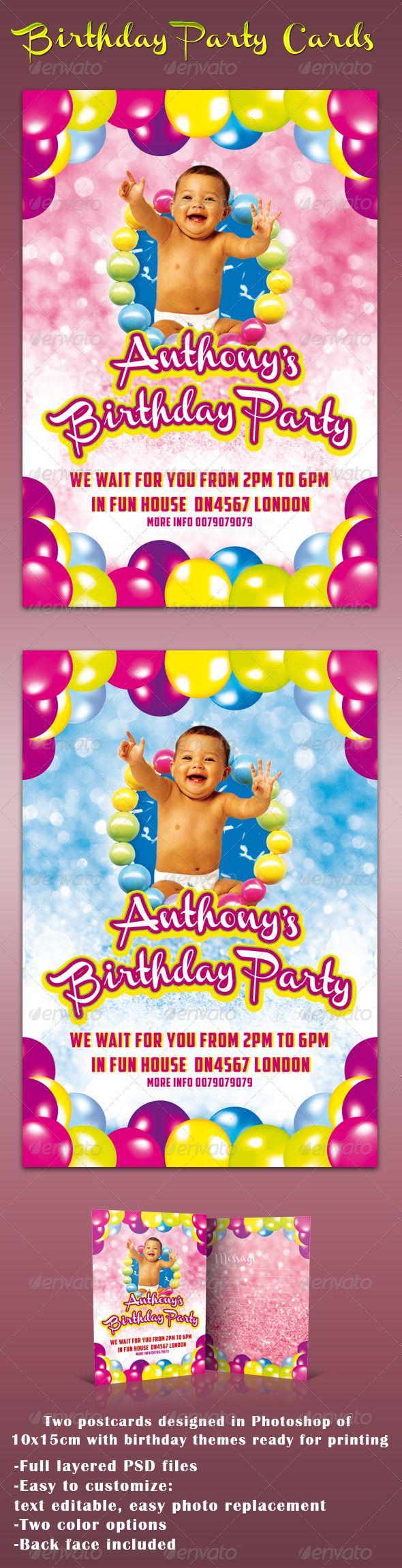 Birthday Cards – Birthday Card Psd