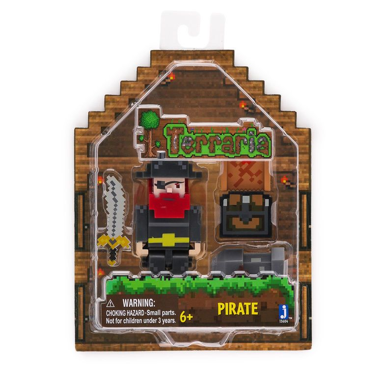 Terraria PIRATE Collectible Figure Toy Jazwares 3 Inch