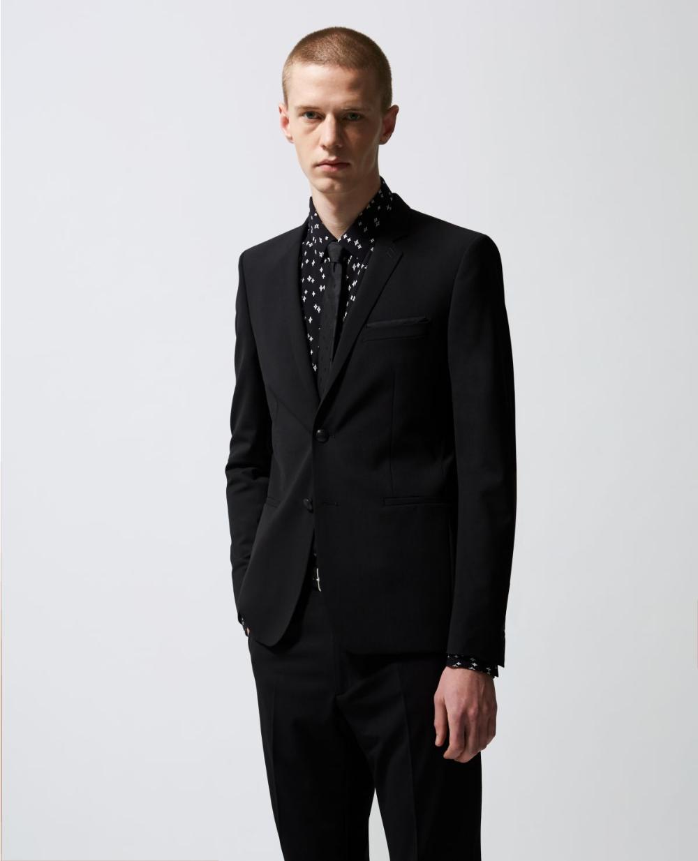 Veste noire habillée laine à chaîne en 2020 (avec images