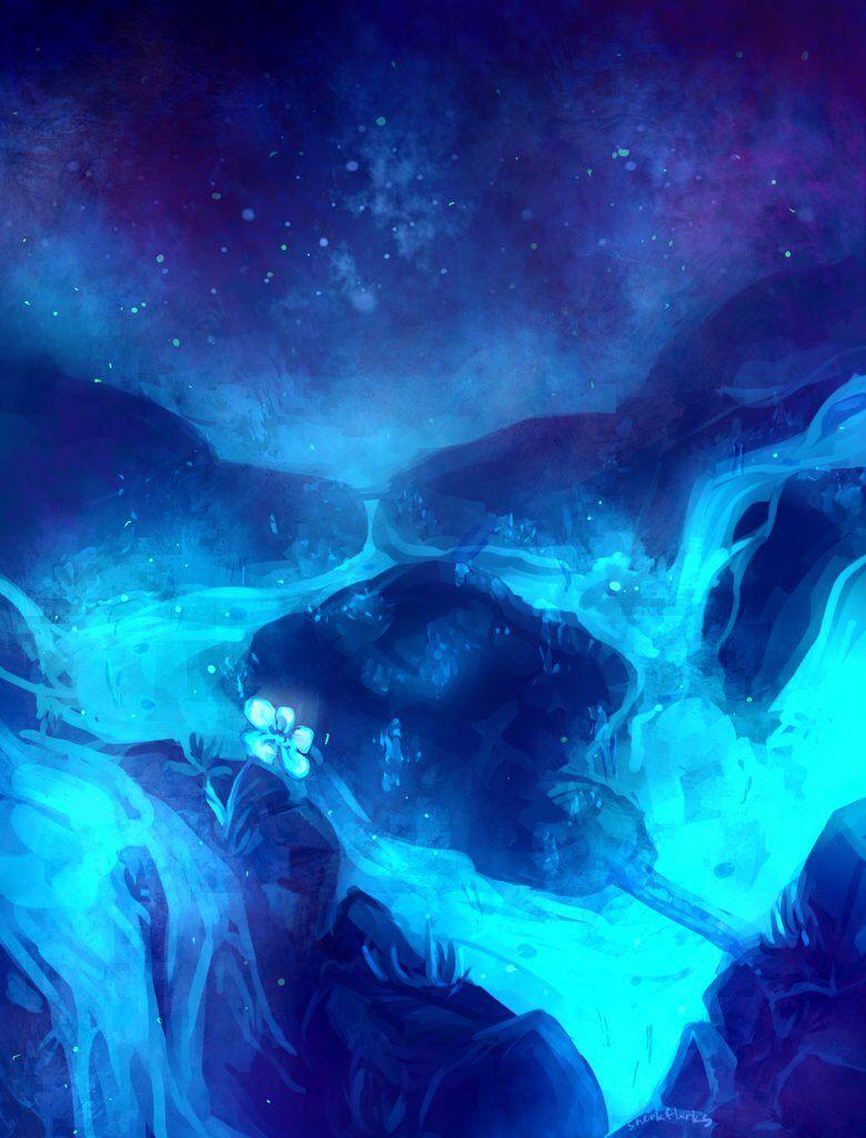 Undertale Fanart Waterfall Undertale Background Undertale Anime Undertale