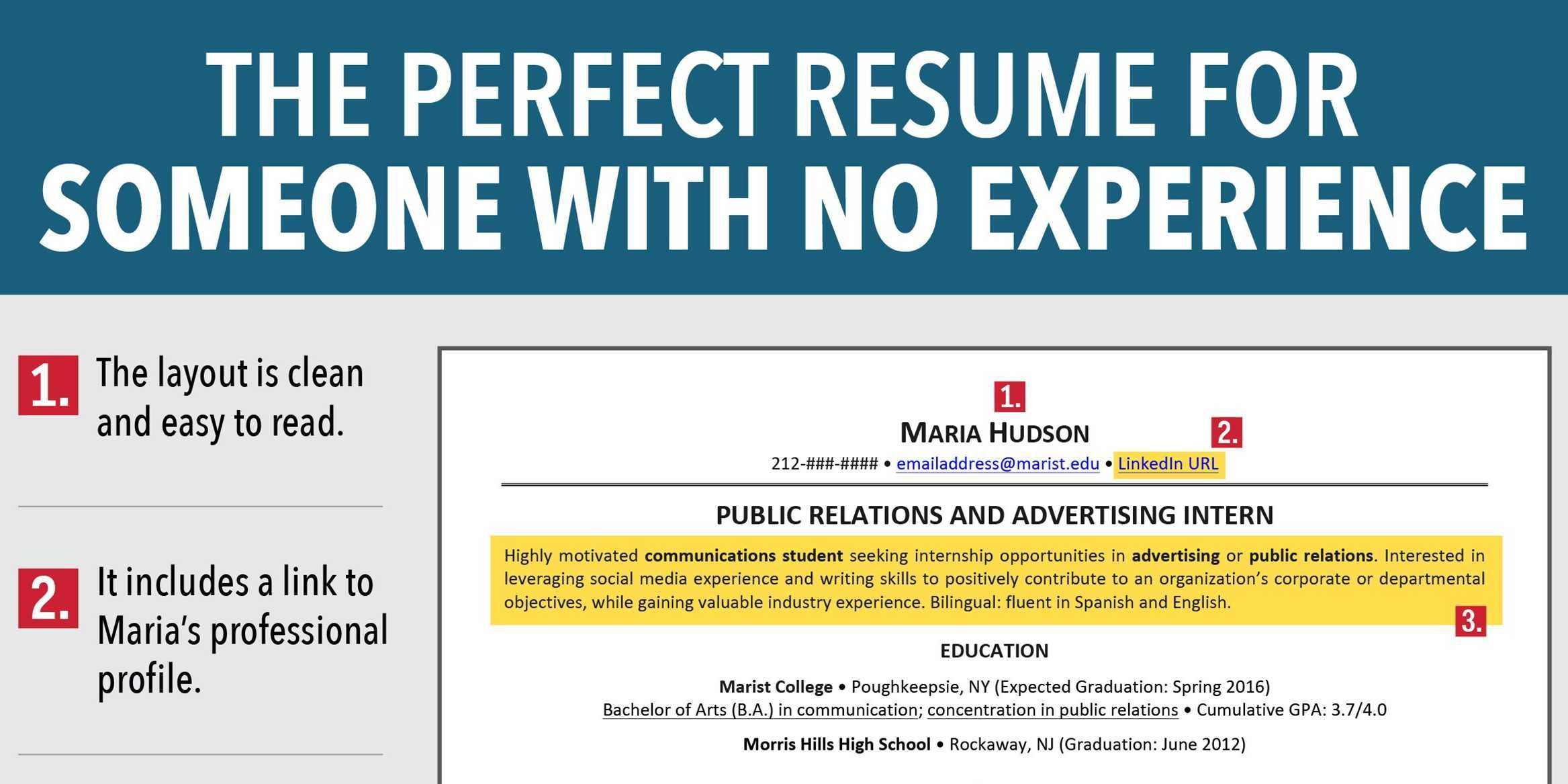Resume For Someone With No Experience Fair 7 Reasons This Is An Excellent Resume For Someone With No Experience .