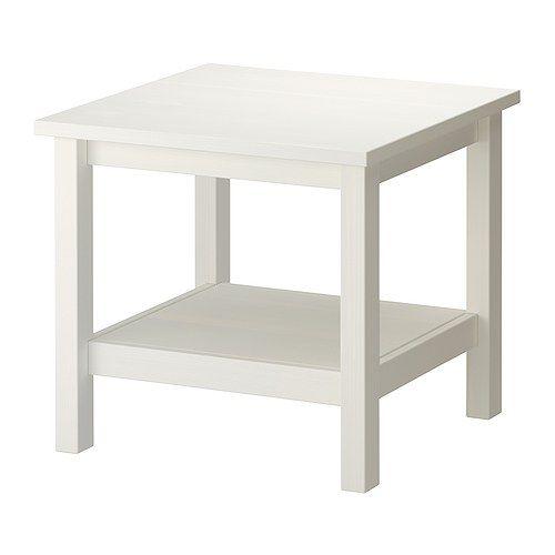 Hemnes Coffee Table White Stain 90x90 Cm: IKEA, 201.762.82, Length: 21 5