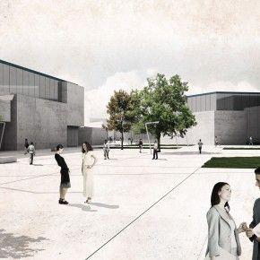Aalto University proposal, Helsinki, by Luigi Valente