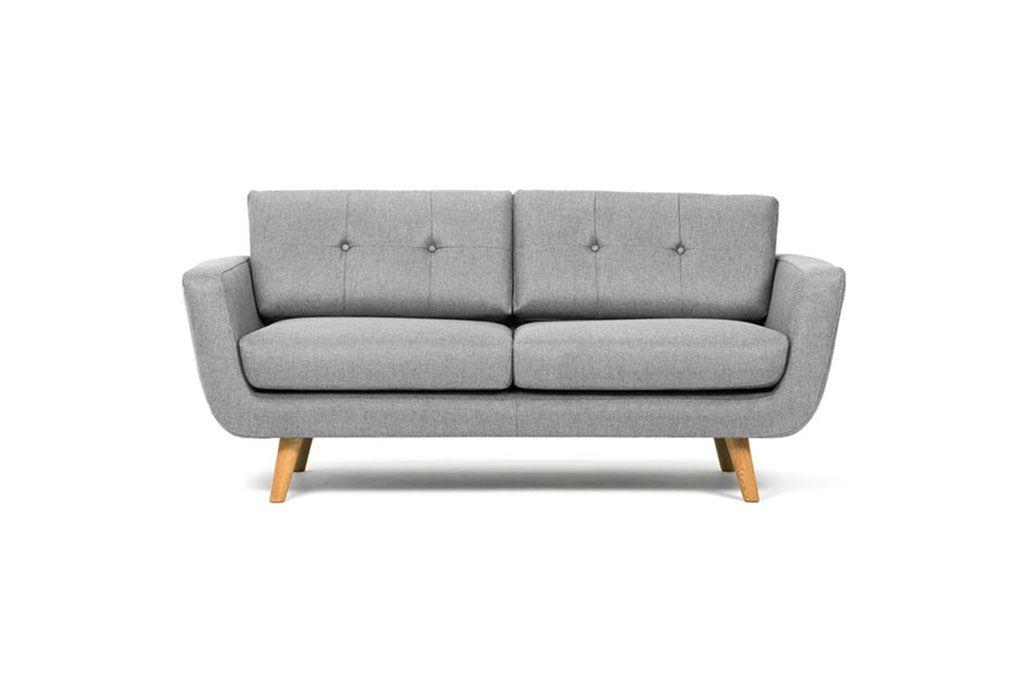 Vera, 2-seater sofa, Vendy Cool Grey