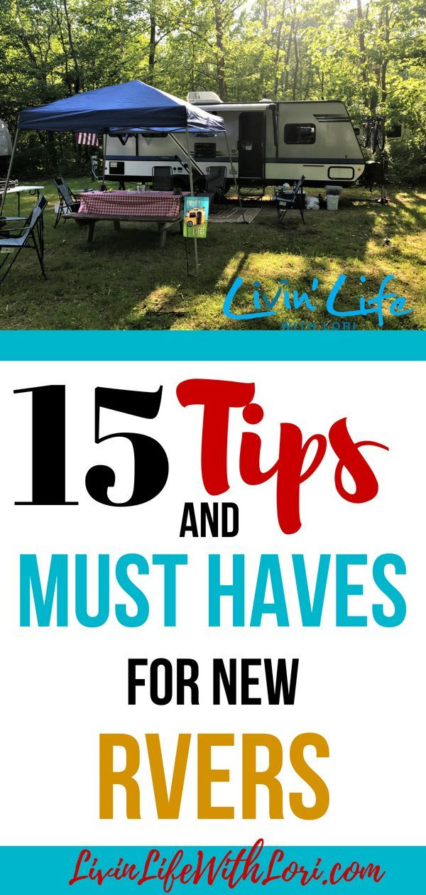 Photo of 15 Tips And Must Haves for New RVers | Livin' Life With Lori