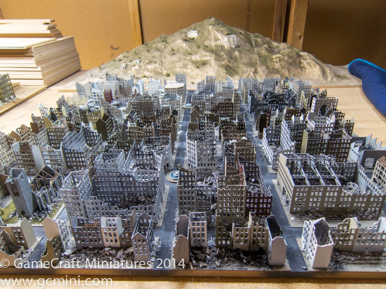 Gamecraft, bombed city (6mm) | Cityfight | 40k terrain