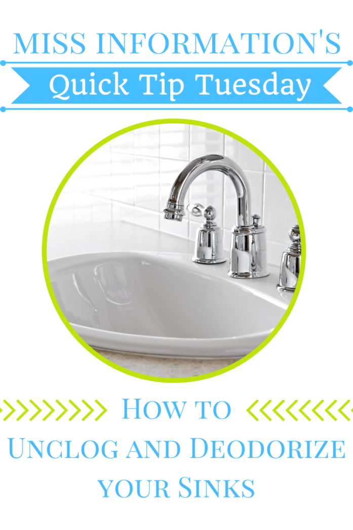 Easy Way To Unclog Your Sink Sink Unclog Diy Plumbing