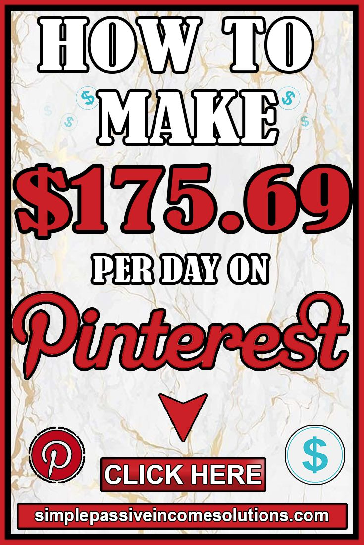 HOW TO MAKE MONEY ON PINTEREST $150+ Per Day ∣ HOW TO EARN EXTRA MONEY ON PINTEREST ∣ MONEY MAKING – great