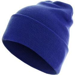 Photo of Urban Classics Beanie Basic Flap Long Version royal Urban Classics