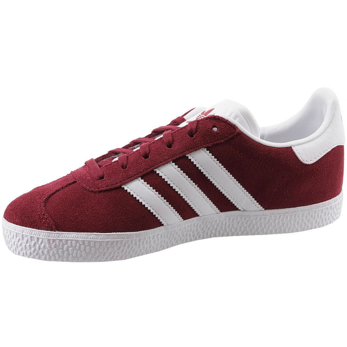 popularna marka wyprzedaż resztek magazynowych zasznurować Buty adidas Gazelle Jr CQ2874 czerwone | Sportowe damskie w ...
