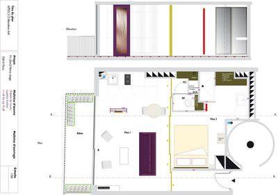 Miniature modularit d 39 un studio paris fables de murs - Architecte interieur paris petite surface ...