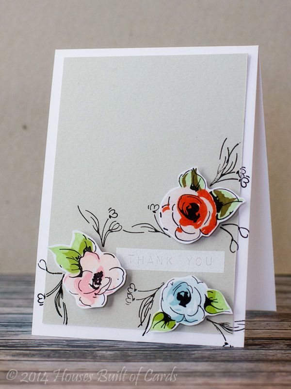 Houses Built of Cards: Painted Flower Playing