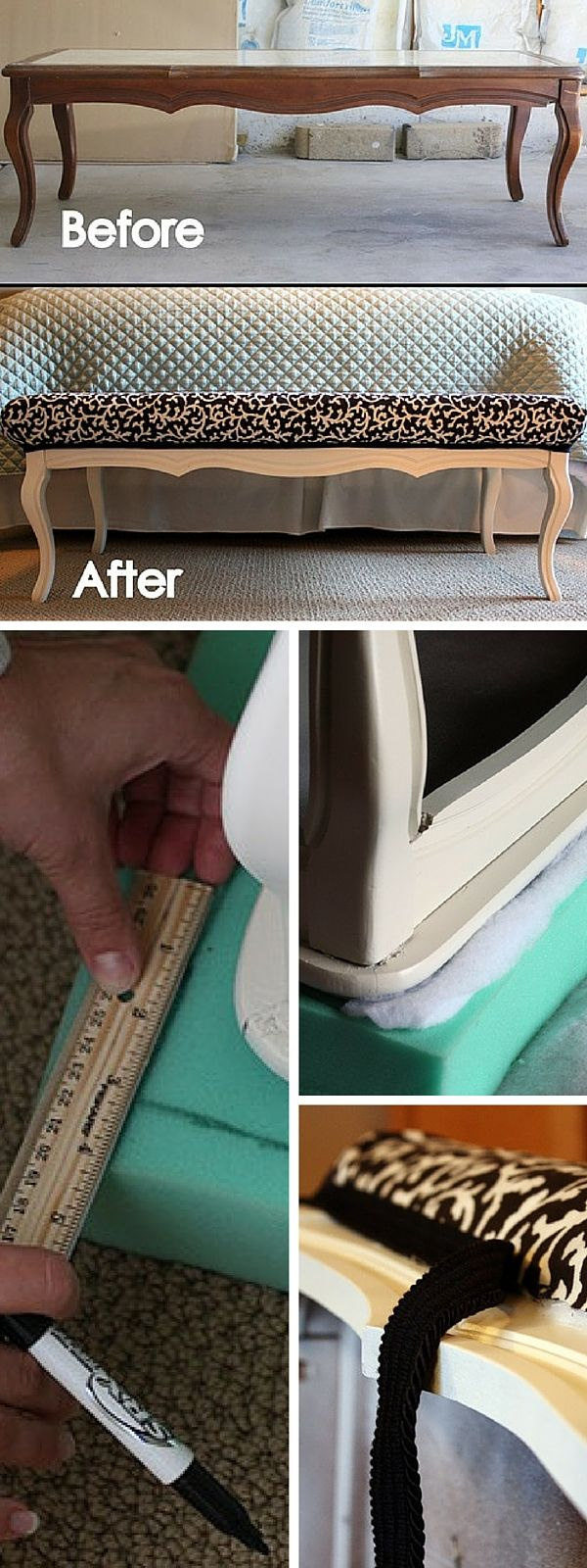 Reupholster Couch Diy Simple